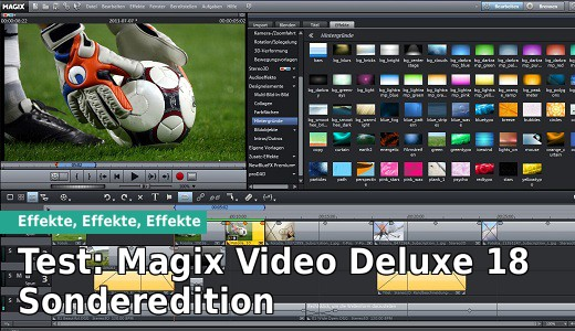Test: Magix Video Deluxe 18 Sonderedition